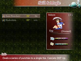 Rakenzarn Tales: Screen - Sakura Skill by DarkKyu09