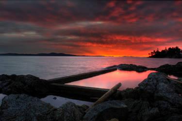 Reflecting Pool by DerekDD