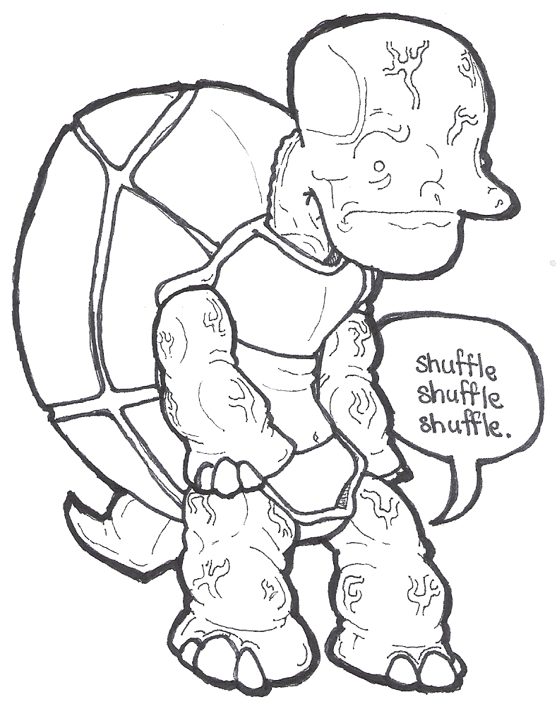 koopa troopa coloring pages pictures to pin on pinterest pinsdaddy