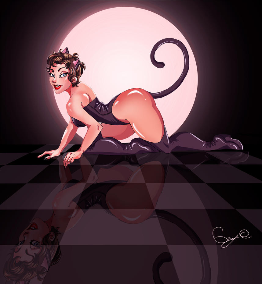 Catwoman -Trinquette challenge by Chtitexxpeste