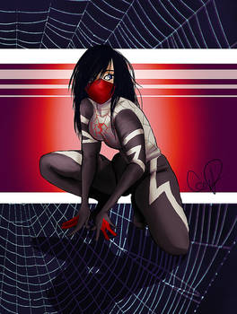 Silk- spiderman by Chtitexxpeste