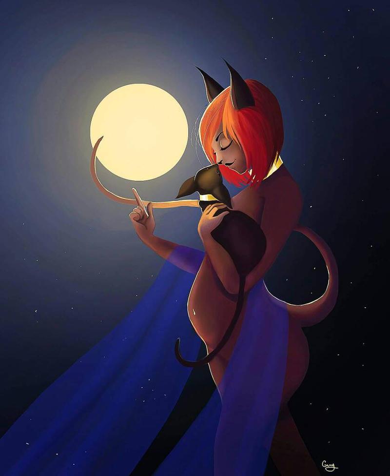 Bastet the goddess cat