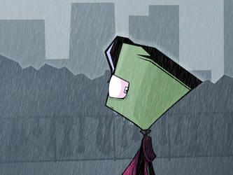 30. Under the Rain by Zim-0f-Irk