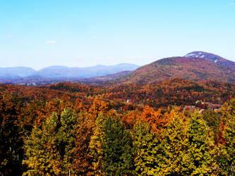 Blue Ridge Mountains by LawnyJ
