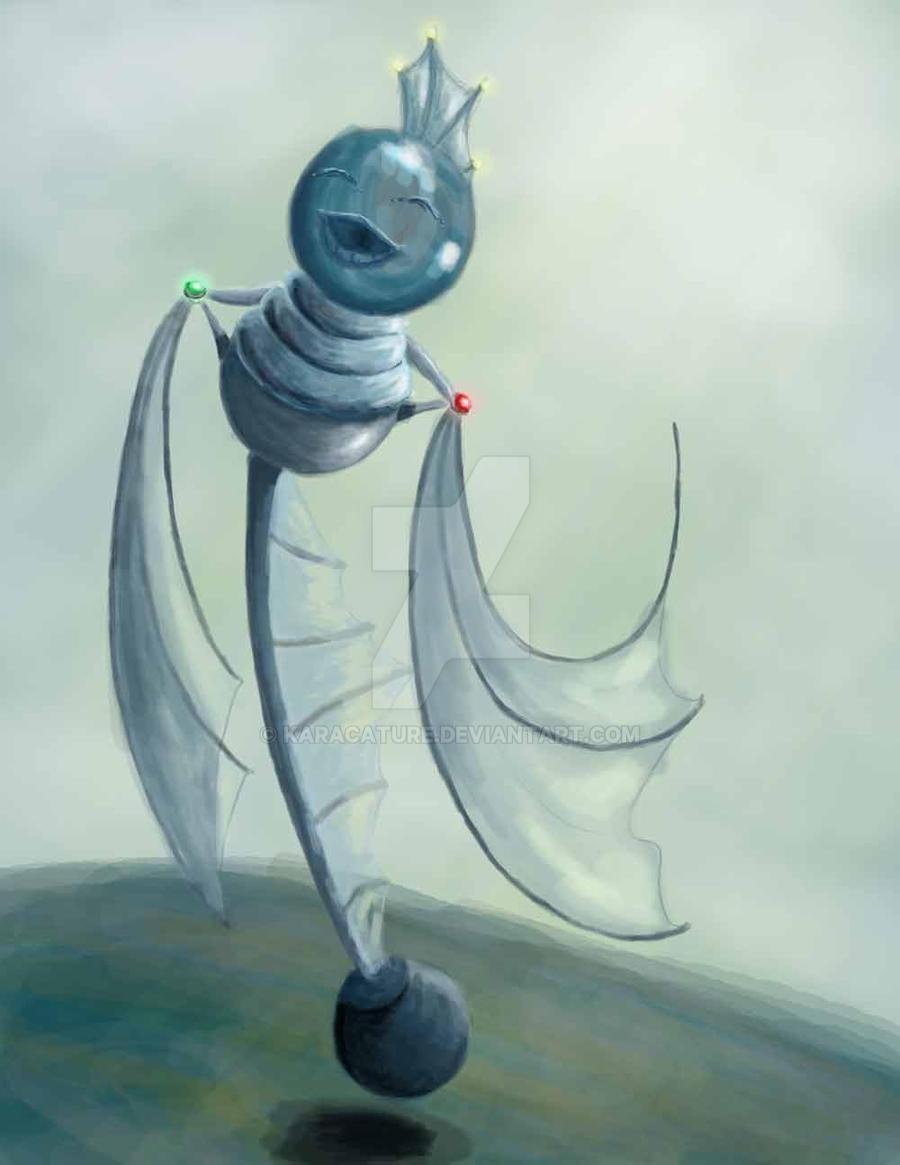 FlyingFishBot by karacature
