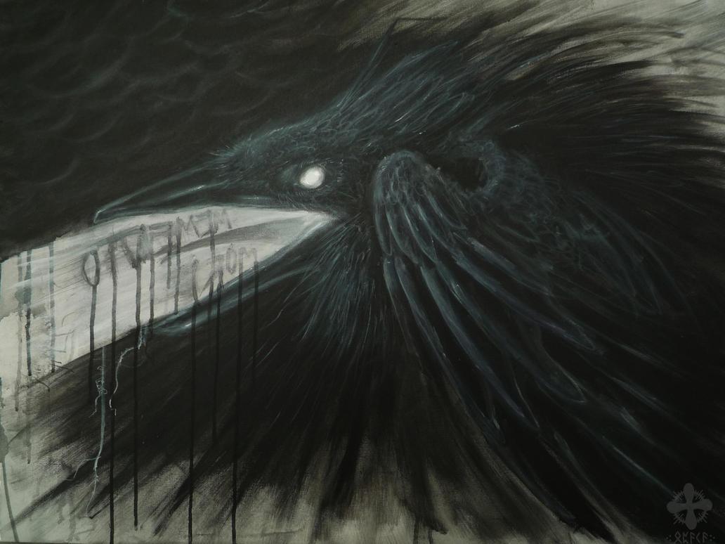 Raven+DEATH+, memento mori by Opaca