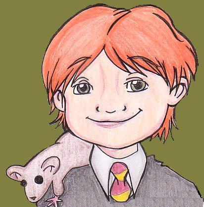 Ron Weasley by Crunchychibi