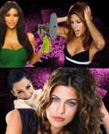 Eva Mendes Hypnotized by Kim Kardashian