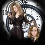 Hermione hypnotized by Bellatrix