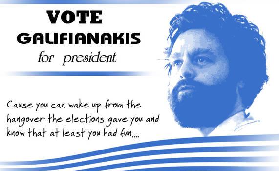 Galifianakis for president