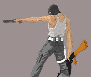 Work in Progress Terrorist by Undeadgoth