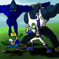 Team-Captin Posers 1