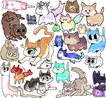 Thats a lot of cats wtf | 4/24 OPEN