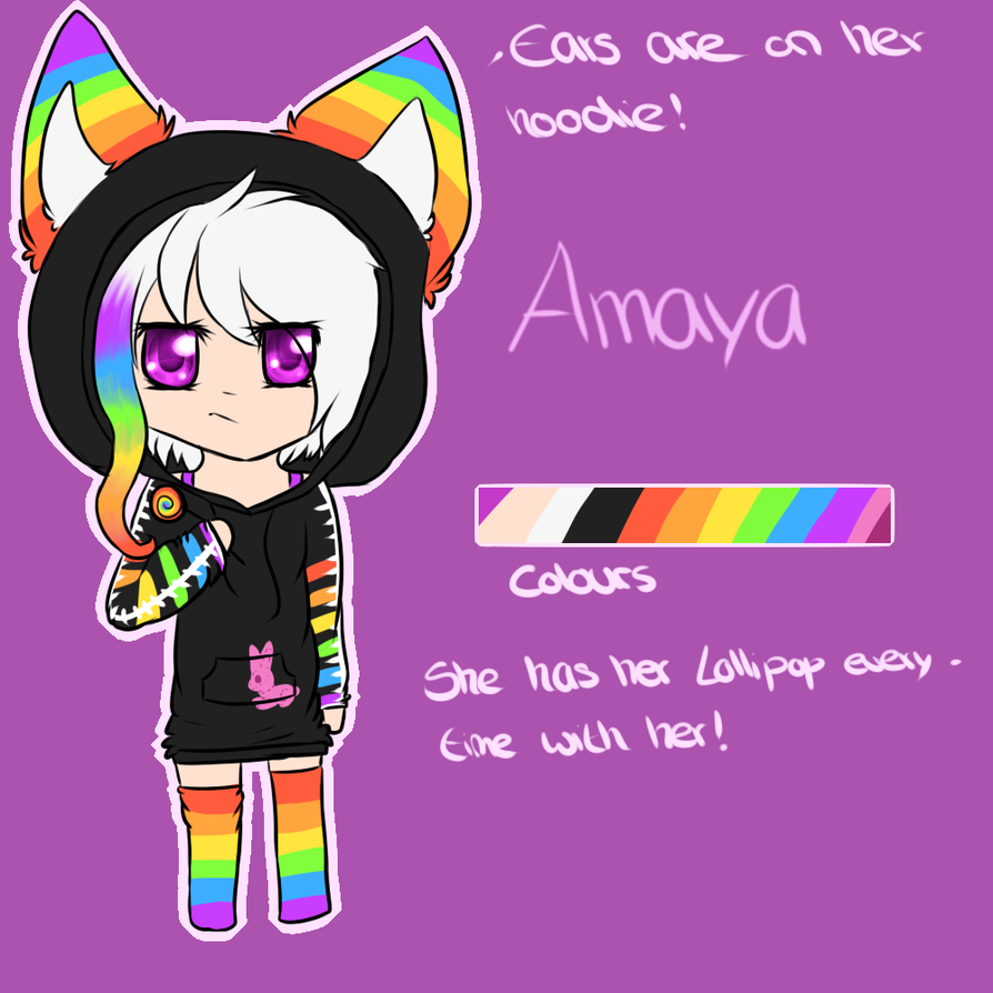 .:Ref-Sheet:. Amaya by oOCupcakeOo