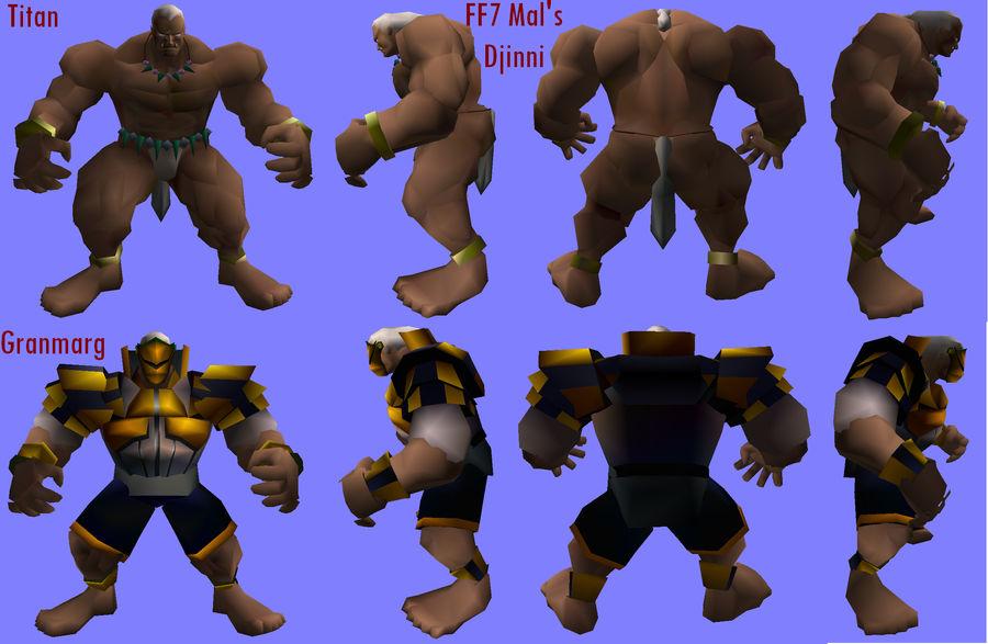 FF7 mod Granmarg comparison by video-boy-mal on DeviantArt