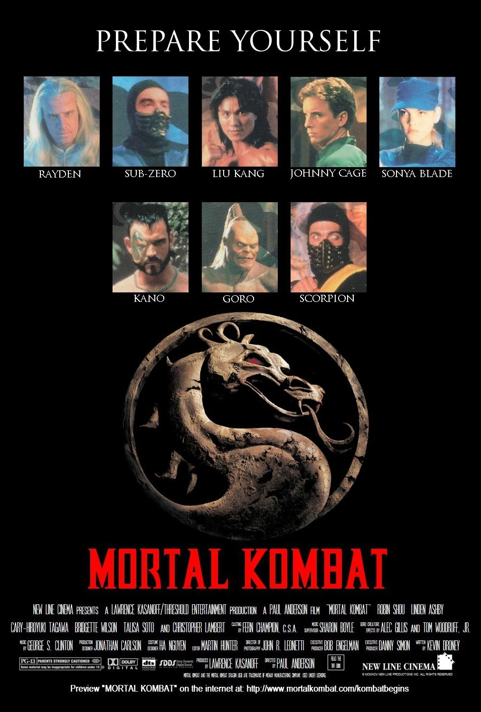 Mortal Kombat 1995 Poster By Ryukanglivesagain On Deviantart