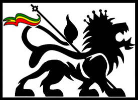 RastaFari Lion of Judah by G1g4Byt3