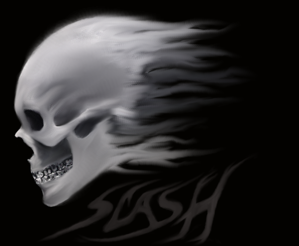 slash skull wallpaper - photo #6