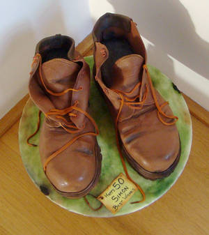 Chocolate Cake Boots