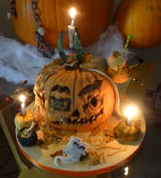 Pumpkin Park Cake by FifiCake
