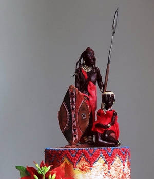 Getting to Zero - Maasai Christmas Cake