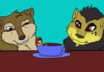 Tenaga Coffee break by girlonwantedposters