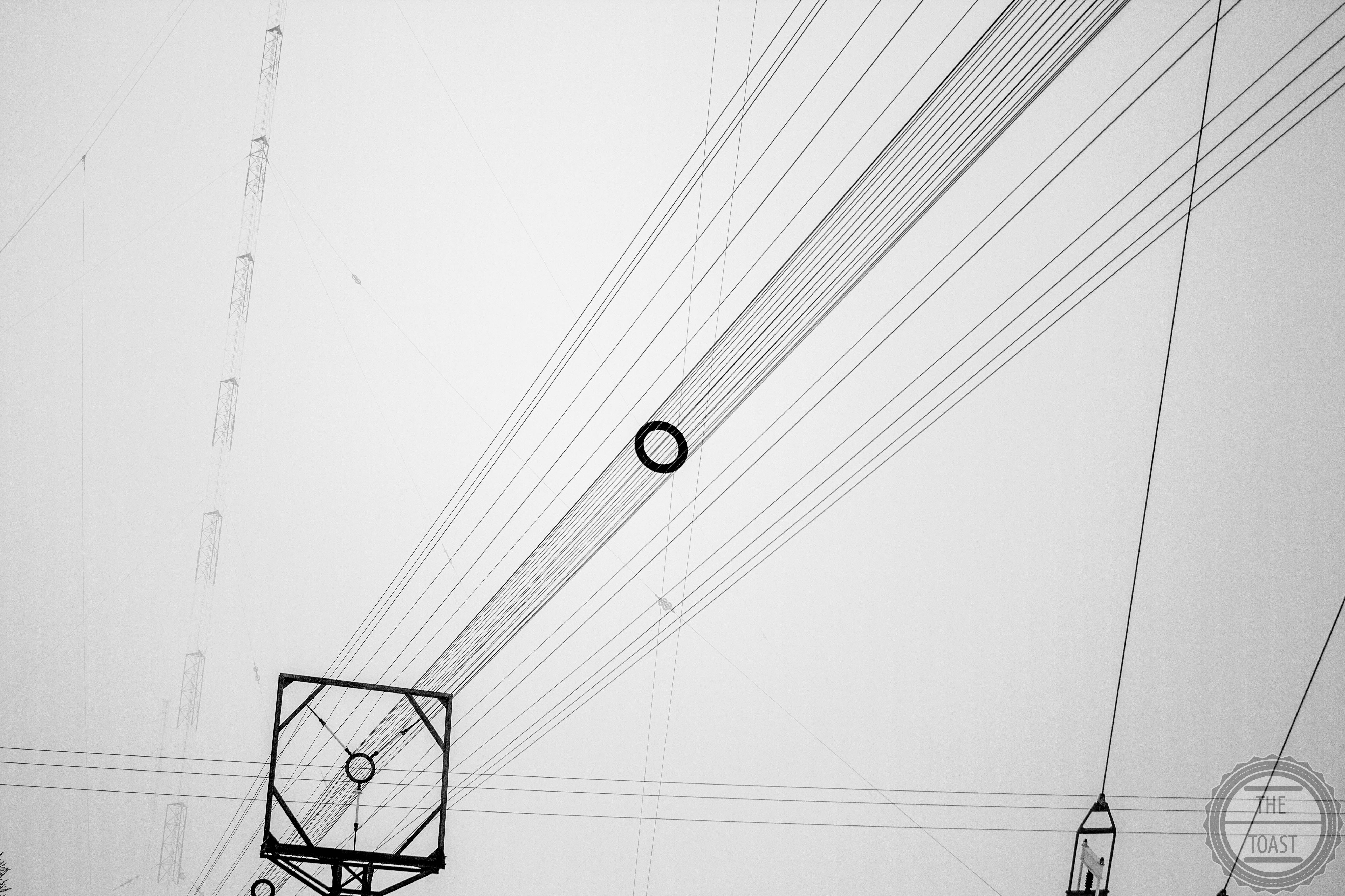 Cables, Wires And Electricity. by ToastPhtogrphy
