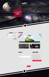 WuHa Design onepage portfolio