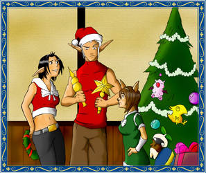 Merry xmas from Vanadiel by kotaronin