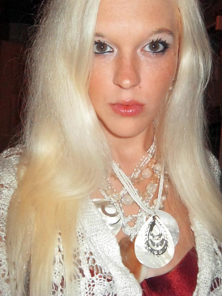 Blonde Woman Stock Photo 3 by ahtibat-stock