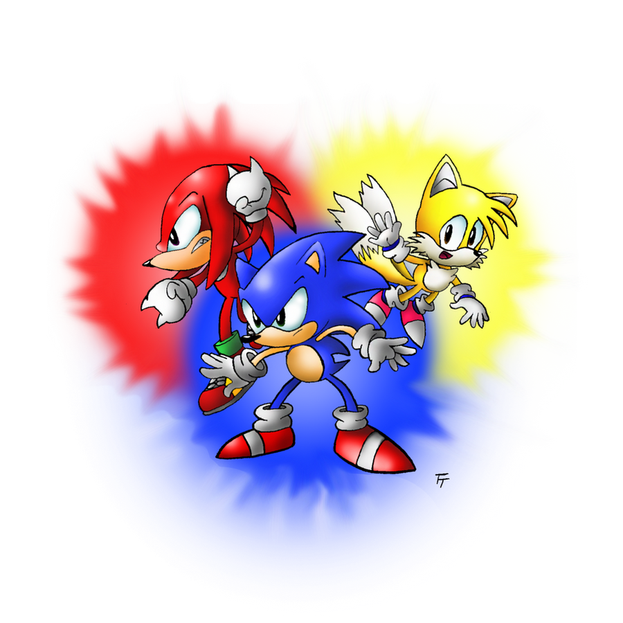 Classic Trio by SonicKnight007