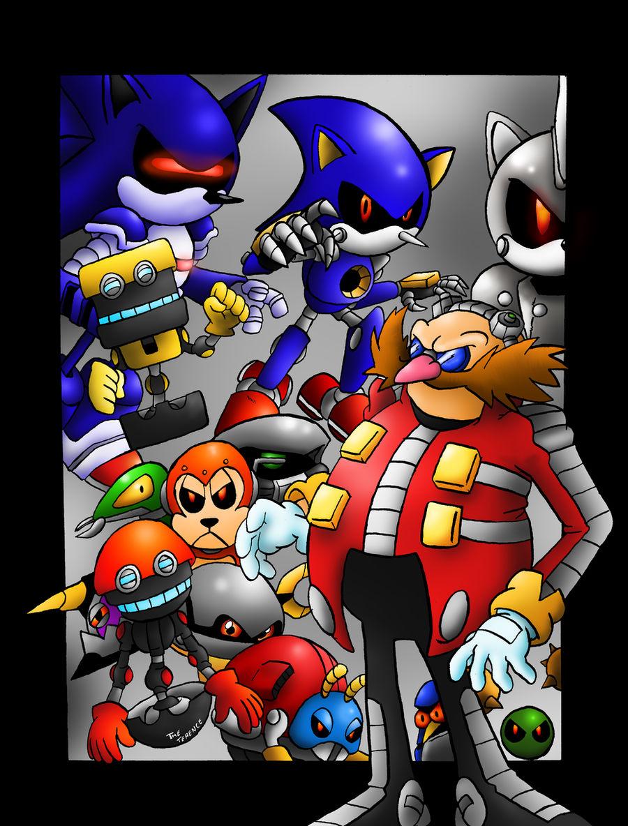 Those Eggman S Robots By Sonicknight007 On Deviantart
