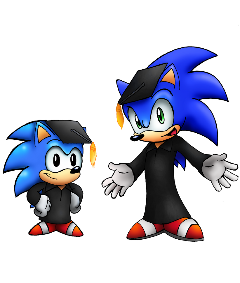 Sonic Graduation by SonicKnight007 on DeviantArt