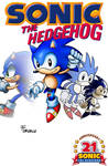 SONIC THE HEDGEHOG  (cover)