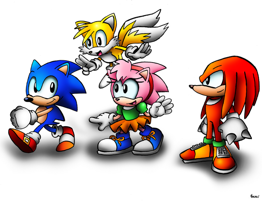 Classic Stroll by SonicKnight007