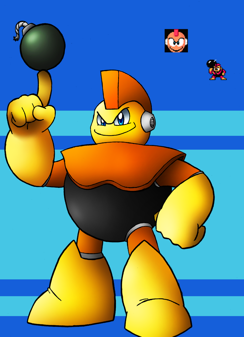 DLN. 006 Bomb Man by SonicKnight007