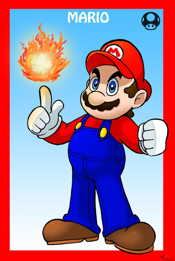 Smash Bros Mario by SonicKnight007