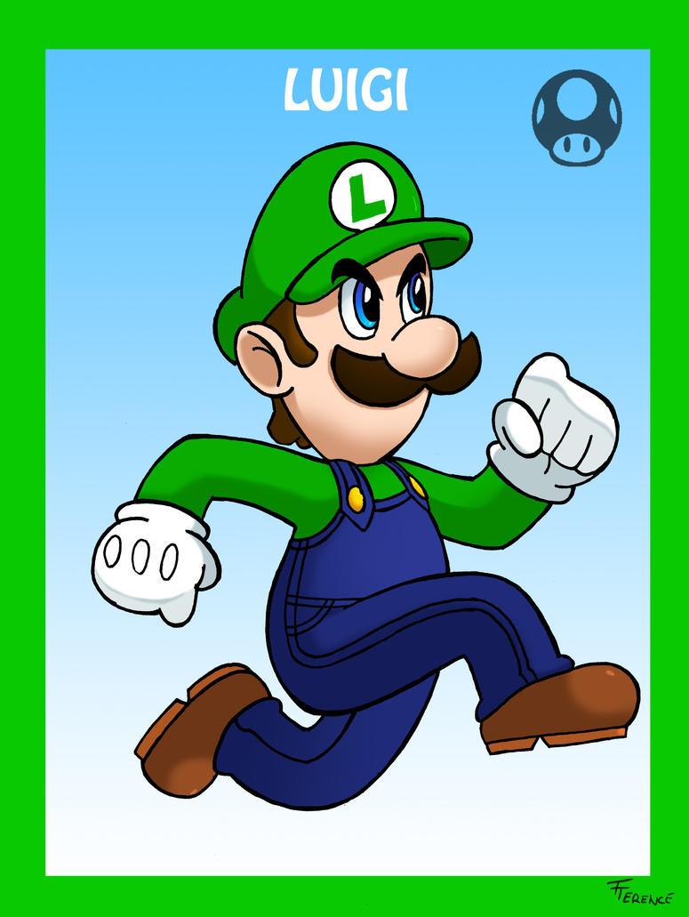Smash Bros Luigi by SonicKnight007