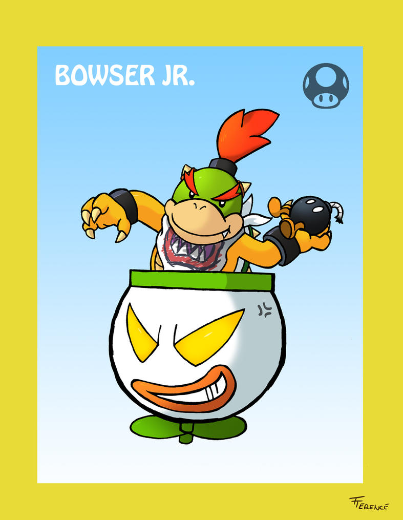 Smash Bros Bowser Jr by SonicKnight007