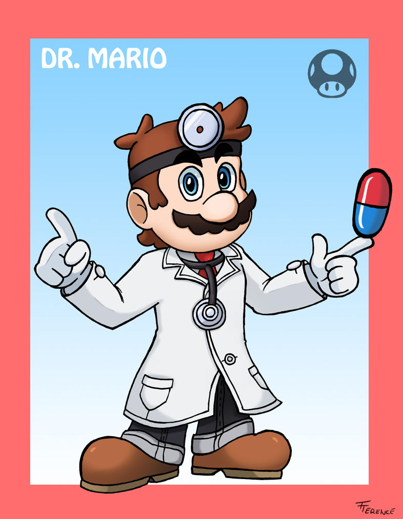 Smash Bros. Dr. Mario by SonicKnight007