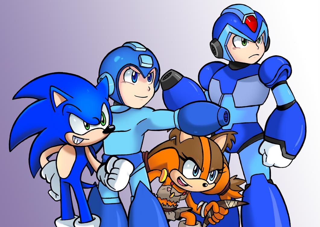 Heros Unite solo by SonicKnight007