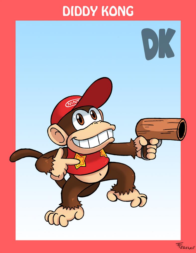 Smash Bros. Diddy Kong by SonicKnight007