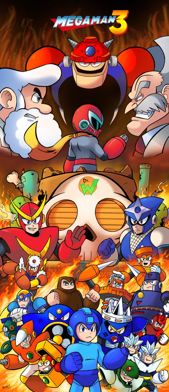 Mega Man 3 by SonicKnight007
