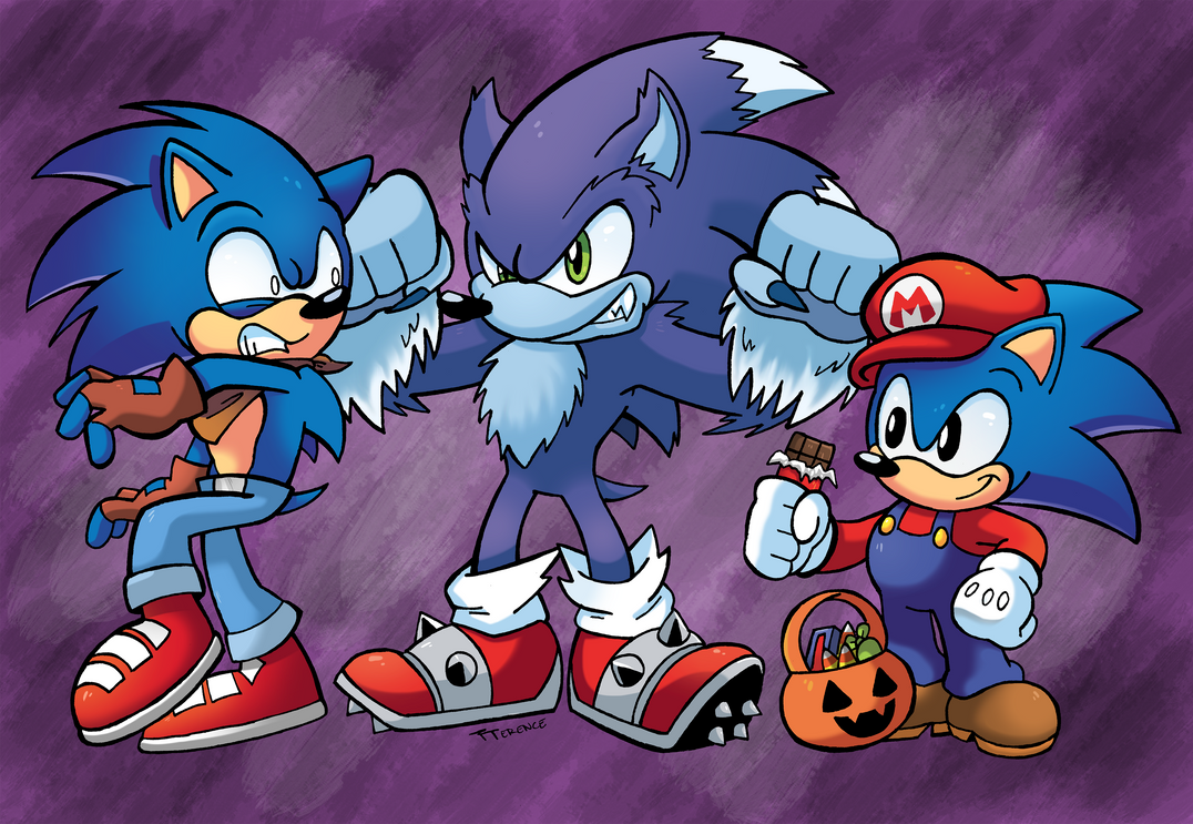 Spoopy Sonic by SonicKnight007