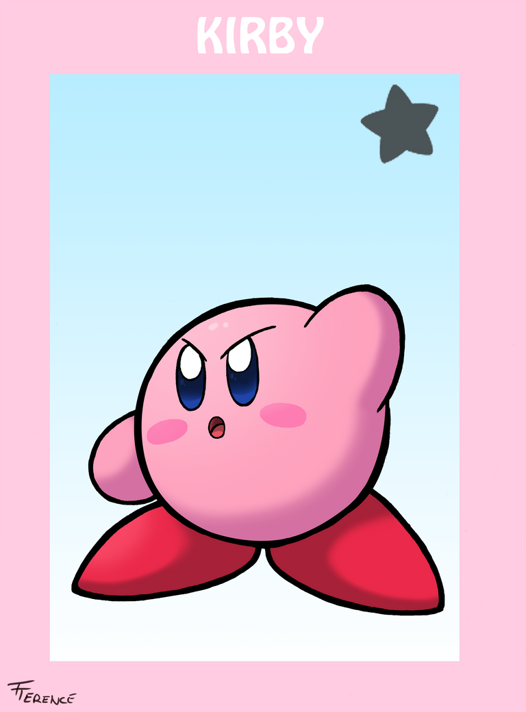 Smash Bros Kirby by SonicKnight007