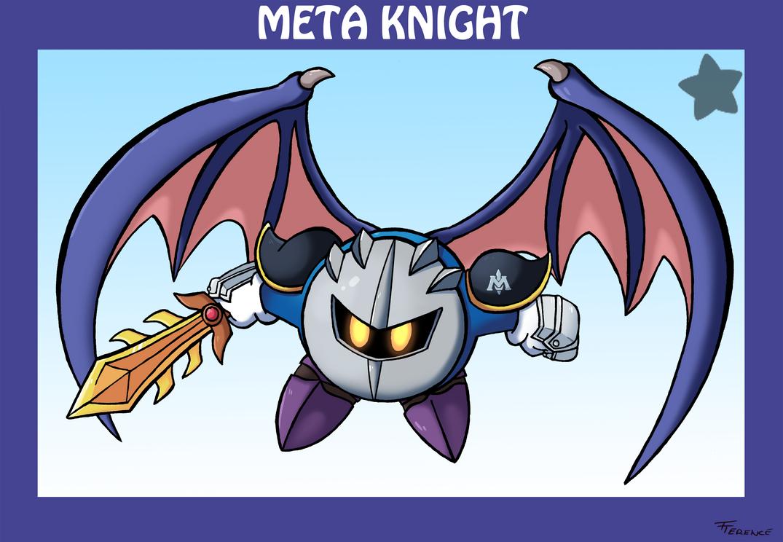 Smash Bros Meta Knight by SonicKnight007