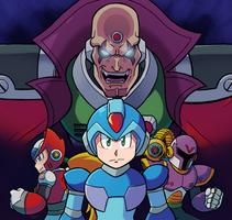 Mega Man X by SonicKnight007