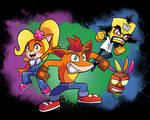 A Crash Comeback! It's Crash Bandicoot!