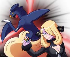 Pokemon Champion Cynthia by SonicKnight007