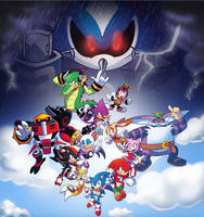 Sonic Heroes by SonicKnight007